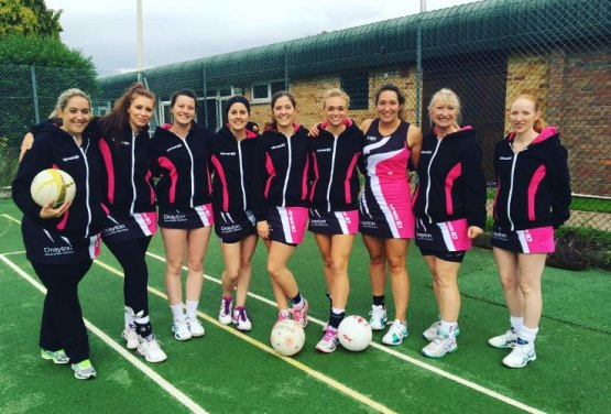 Local Netball Team Pivot to Success!