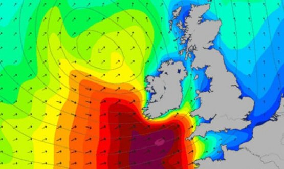 Storm Doris Set To Hit UK!