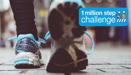 1 Million Steps Challenge Complete!